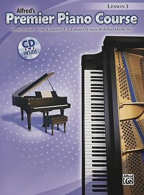 Premier Piano Course Lesson Book, Bk 3 (Book & CD), Alexander, Dennis; Kowalchyk, Gayle; Lancaster, E. L.; McArthur, Victoria; Mier, Martha