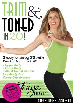 Tonya Larson's Trim and Toned in 20! DVD, Tonya Larson