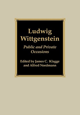 Image for Ludwig Wittgenstein: Public and Private Occasions