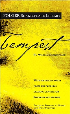 "The Tempest (Folger Shakespeare Library), ""Shakespeare, William"""