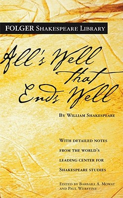Image for All's Well That Ends Well (Folger Shakespeare Library)