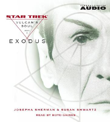 Image for Vulcan's Soul Trilogy Book One: Exodus (Star Trek Vulcan's Soul)