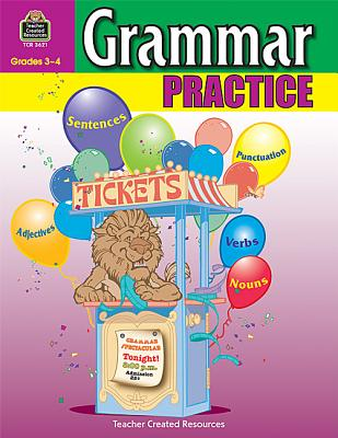 Image for Grammar Practice for Grades 3-4