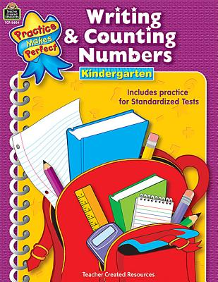 Writing & Counting Numbers Grade K (Practice Makes Perfect), Rosenberg, Mary