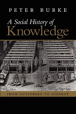 Image for Social History of Knowledge: From Gutenberg to Diderot