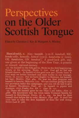 Image for Perspectives on the Older Scottish Tongue