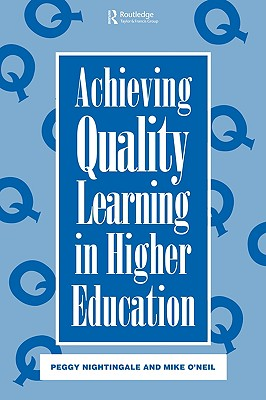 Image for Achieving Quality Learning in Higher Education
