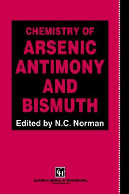 Image for Chemistry of Arsenic, Antimony and Bismuth