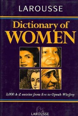 Image for Larousse Dictionary of Women