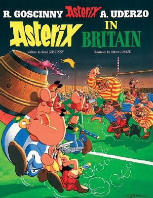 Asterix in Britain: Album #8, Rene Goscinny