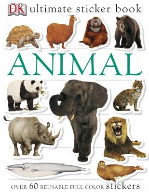 Image for Ultimate Sticker Book: Animal (Ultimate Sticker Books)