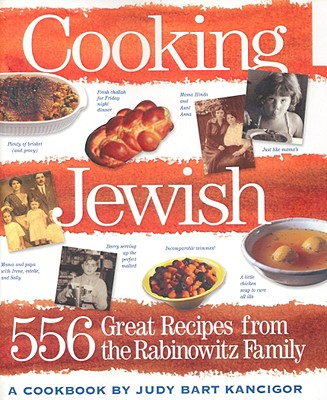 Image for Cooking Jewish: 532 Great Recipes from the Rabinowitz Family