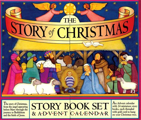 STORY OF CHRISTMAS STORY BOOK SET & ADVENT CALENDAR, PACKARD, MARY