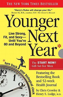 Younger Next Year Gift Set for Men, Crowley, Chris; Lodge M.D., Henry S.