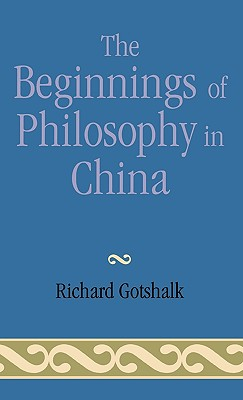 Image for The Beginnings of Philosophy in China