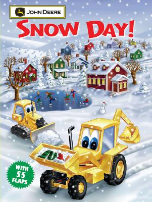 Image for Snow Day: John Deere Giant Lift-the-Flap Book