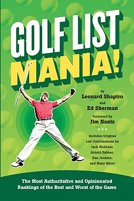 Image for GOLF LIST MANIA! : THE MOST AUTHORITATIV