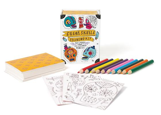 Image for Sugar Skulls Coloring Kit (RP Minis)