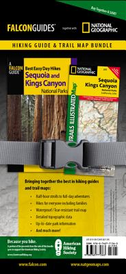 Best Easy Day Hiking Guide and Trail Map Bundle: Sequoia and Kings Canyon National Park (Best Easy Day Hikes Series), Scheidt, Laurel