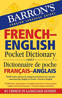 Image for Barron's French-English Pocket Bilingual Dictionary (Barron's Pocket Bilingual Dictionaries)