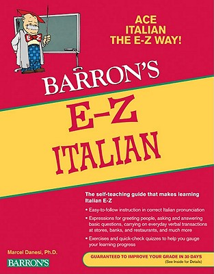 Image for E-Z Italian (Barron's E-Z Series)