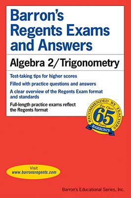 Image for Algebra 2/Trigonometry (Barron's Regents Exams and Answers)