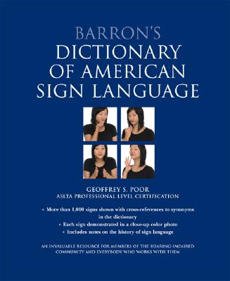 Image for Barron's Dictionary of American Sign Language