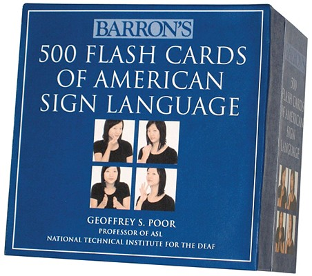 Image for Barron's 500 Flash Cards of American Sign Language