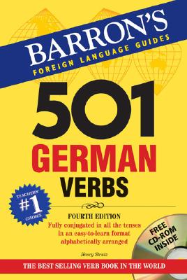 501 German Verbs with CD-ROM (501 Verb Series), Strutz, Henry