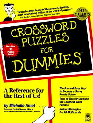 Image for CROSSWORD PUZZLES FOR DUMMIES