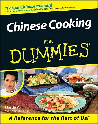 """Chinese Cooking For Dummies, """"Yan, Martin"""""""