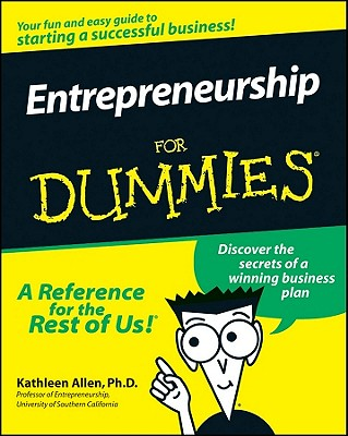 Image for Entrepreneurship For Dummies [Paperback] Allen, Kathleen