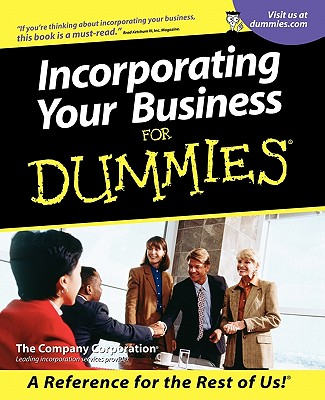 Image for Incorporating Your Business For Dummies