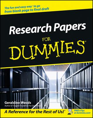 Image for Research Papers For Dummies