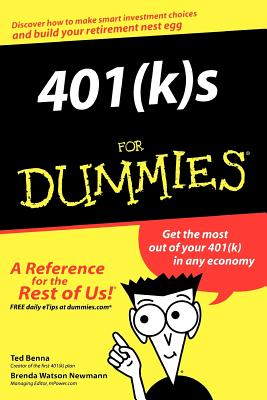 Image for 401 (K)S FOR DUMMIES