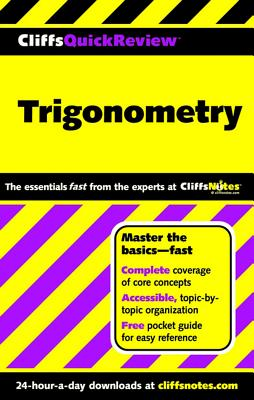 "CliffsQuickReview Trigonometry, ""Kay, David A"""