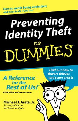 Image for Preventing Identity Theft For Dummies