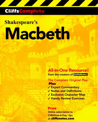 "CliffsComplete Macbeth, ""Shakespeare, William"""