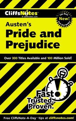 Image for Pride and Prejudice: Cliffs Notes