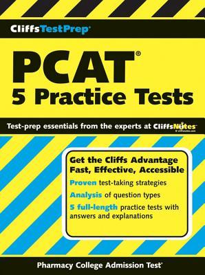 "CliffsTestPrep PCAT: 5 Practice Tests, ""Weinfeld, Mark"""