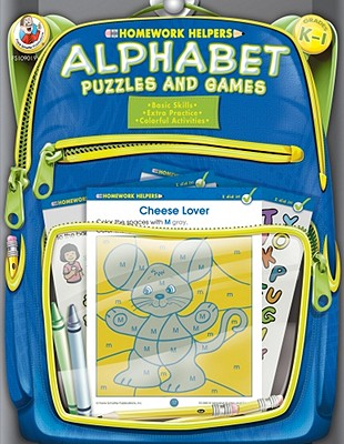 Image for Alphabet Puzzles and Games Homework Helper, Grades K to 1
