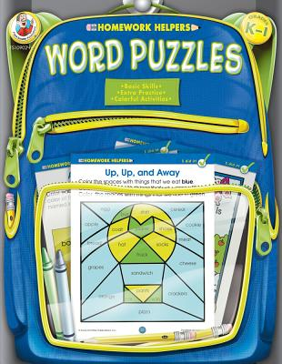 Image for Word Puzzles Homework Helper, Grades K to 1