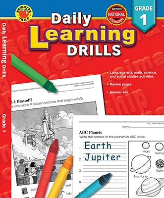 Daily Learning Drills Grade 1, Douglas, Vincent