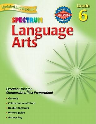 Image for Spectrum Language Arts, Grade 6
