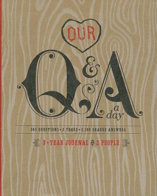 Image for Q&A a Day: 3-Year Journal for 2 People