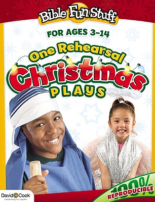 Image for One Rehearsal Christmas Plays (Bible Funstuff)