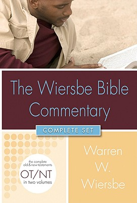 Image for Wiersbe Bible Commentary 2 Vol Set wCD Rom (Wiersbe Bible Commentaries)