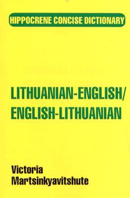 Lithuanian-English/English-Lithuanian Concise Dictionary (Hippocrene Concise Dictionary), Martsinkyavitshute, Victoria
