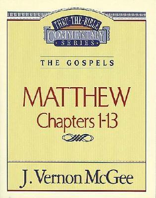 Image for Thru the Bible Vol. 34: The Gospels (Matthew 1-13)