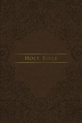 Image for KJV, Journal the Word Reference Bible, Leathersoft, Brown, Red Letter Edition, Comfort Print: Let Scripture Explain Scripture. Reflect on What You Learn.
